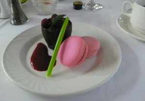 Six courses with a chocolate theme were featured during the Vanancier's gourmet cruise from Montreal to the Madeleine Islands.